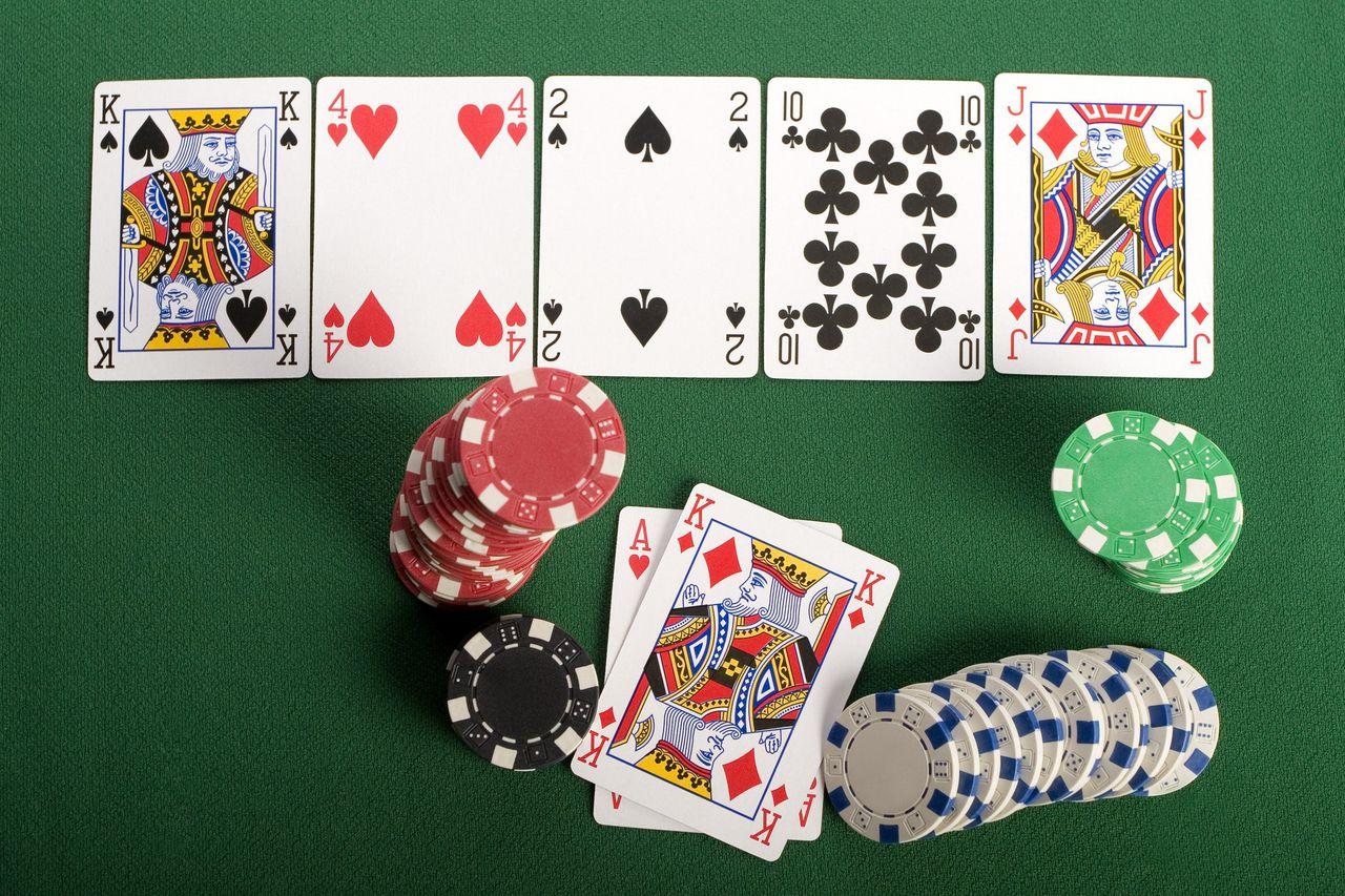 Rooky Texas Hold Em poker