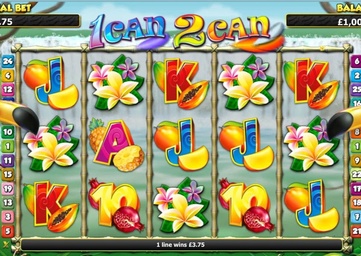 about 1 Can 2 Can slot game